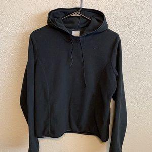 Nike fleece hooded sweater size medium
